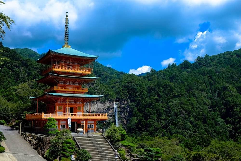 Temple du Japon